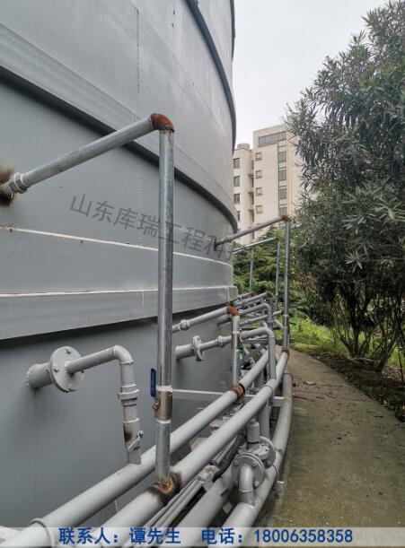 长岭钢板库改造-库外管道改造
