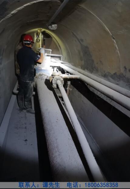 佳木斯钢板库维修-输送管道检查