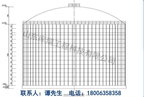佳木斯钢板库设计-结构加固