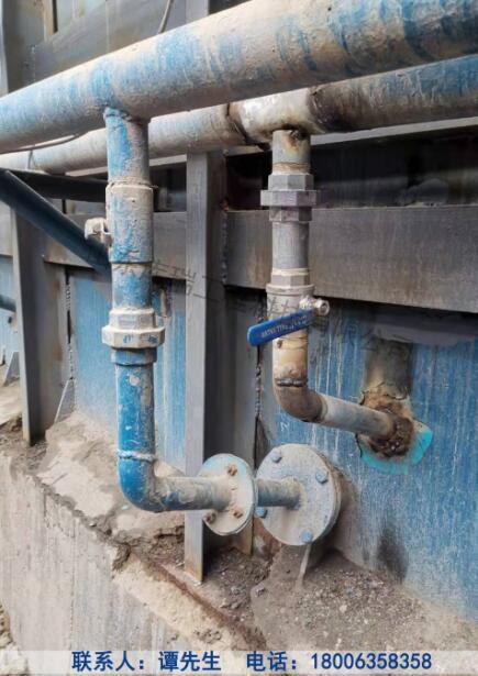 长岭钢板库改造-库外管道改变